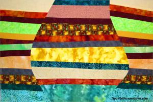 art quilt, improvisational quilting