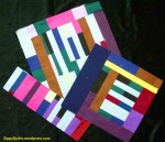 improv quilt blocks