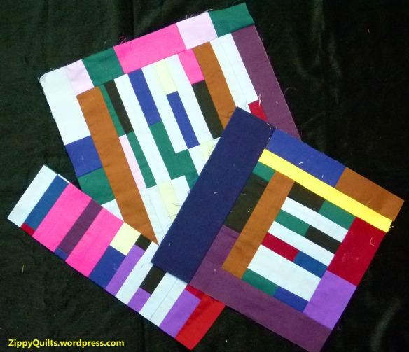 improv quilt blocks