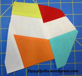 improv quilt block