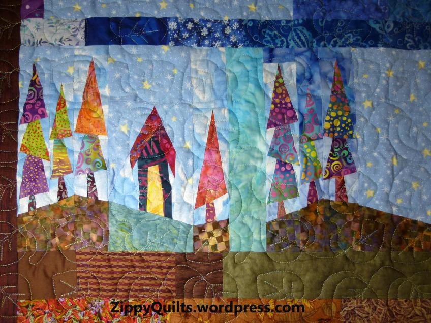 paper pieced quilt block