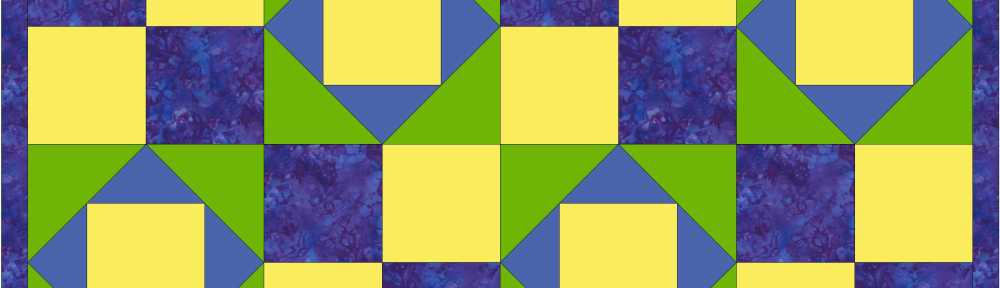 pieced quilt design