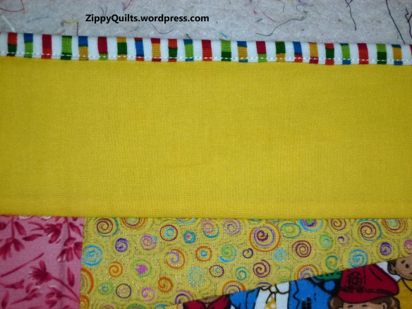 striped binding