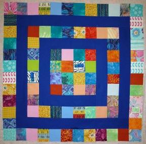 pieced quilt block