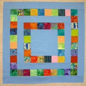 pieced quilt block