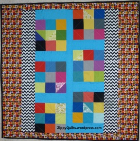 One of my quilts for Ronald McDonald House