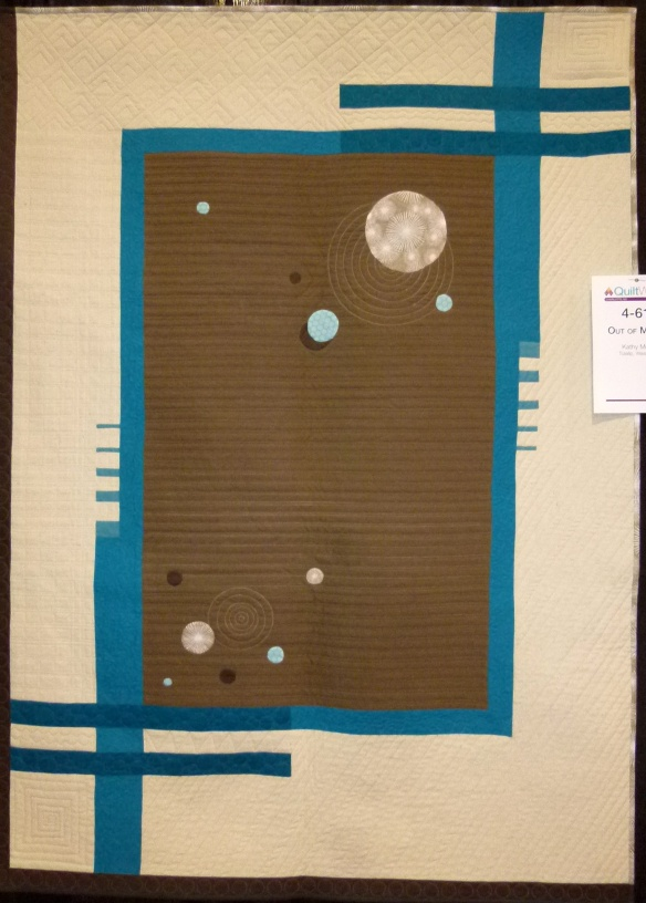 art quilt at AQS Charlotte