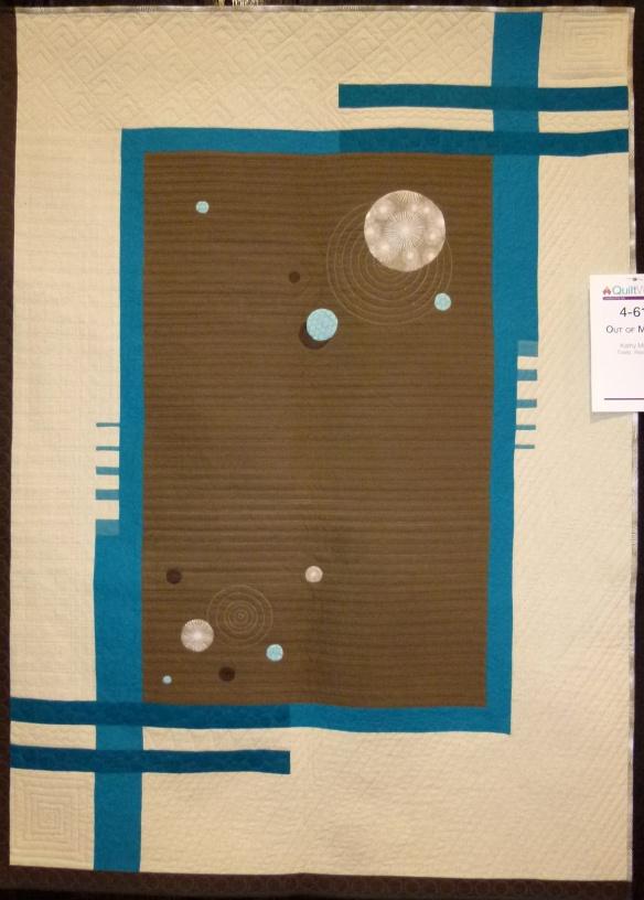 art quilt at AQS Charlotte