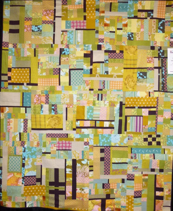 quilt at AQS Charlotte