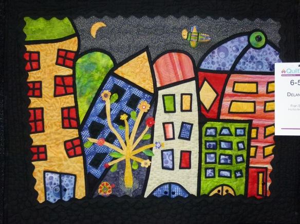 modern quilt, art quilt