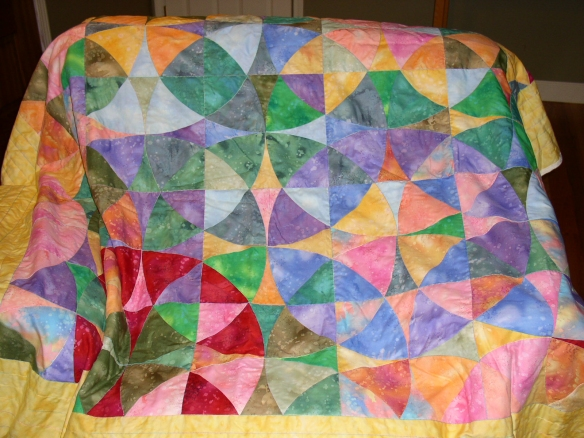 wheel of mystery quilt