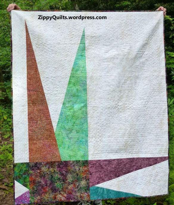 Zippy Star quilt by Mary J Puckett