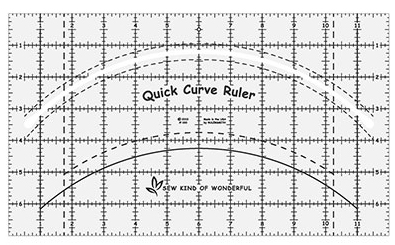 Quick Curves ruler