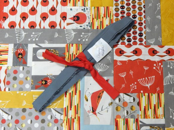 Turning Twenty Again, Charley Harper fabric