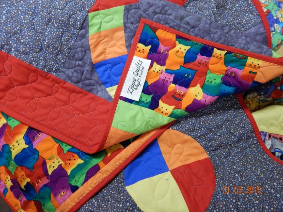 Quick Curve Ruler quilt