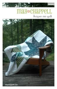 Designer star quilt