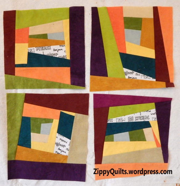 Improvisational Quilt Blocks