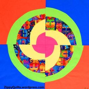 modern quilt block