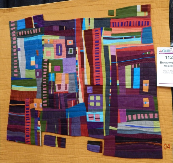 AQS Paducah improvisational quilt