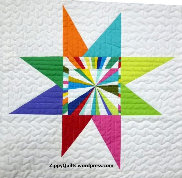 modern star block