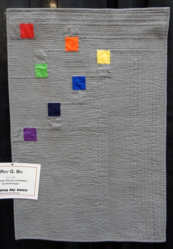 Sandi Suggs modern quilt