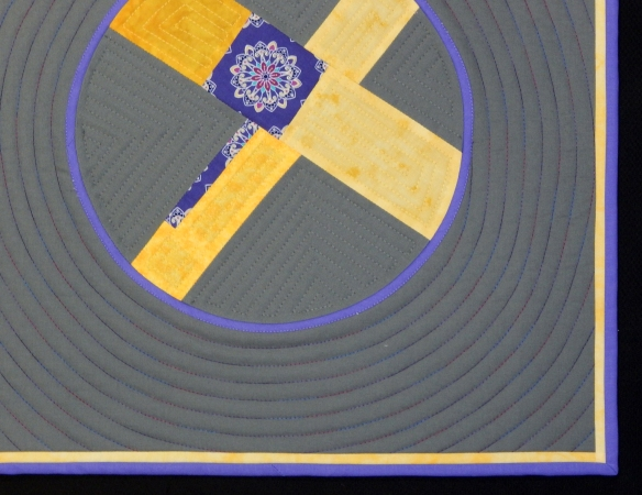narrow accents, Modern Quilts Unlimited magazine