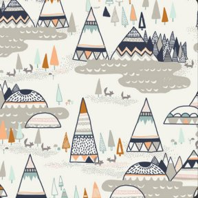 Indian Summer fabric