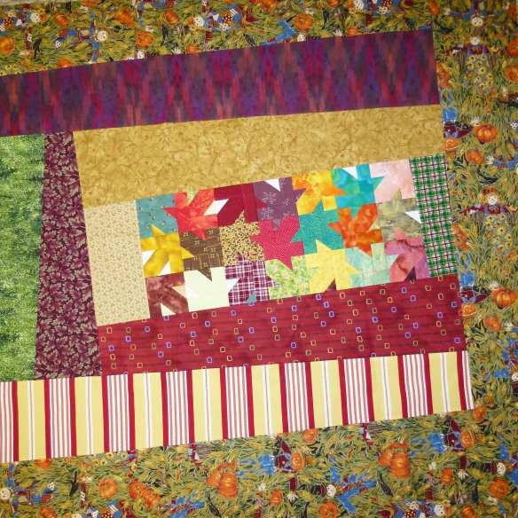 improvised quilt