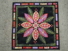 Tiffany inspired quilt by Connie Brown