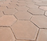 Tiles at the McDonald Observatory in Texas