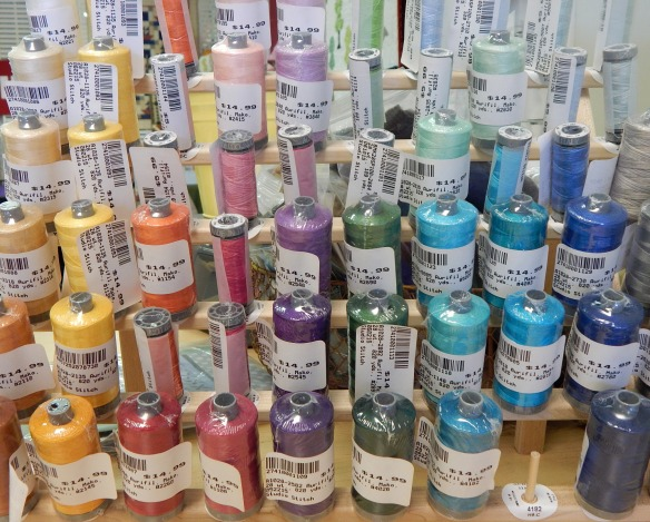 28 weight thread can be hard to find, but Studio Stitch has plenty!