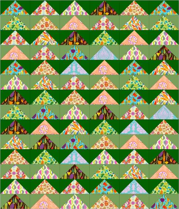 layer cake quilt design