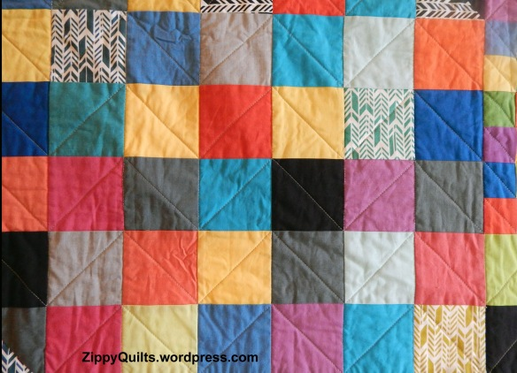 walking-foot quilting