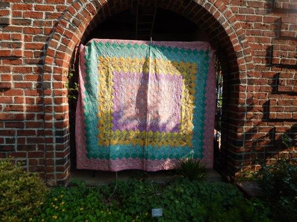 outdoor quilt show