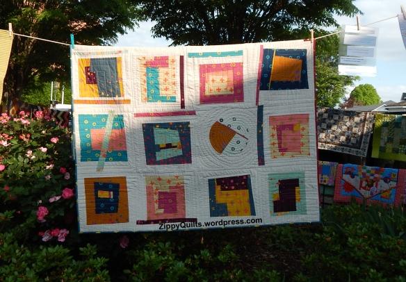 Alison Glass fabrics quilt