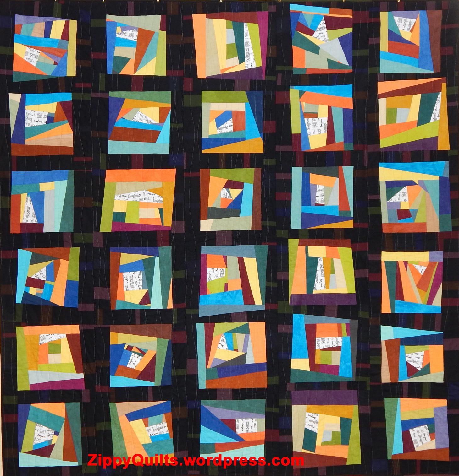 improvisational quilt
