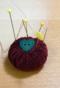 miniature pincushion