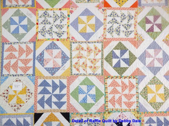 traditional pieced quilt