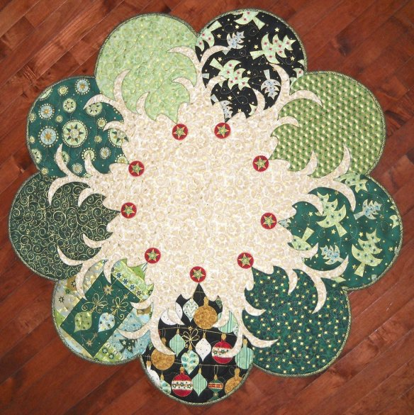 Trees All Around, photo courtesy of Quilted Garden