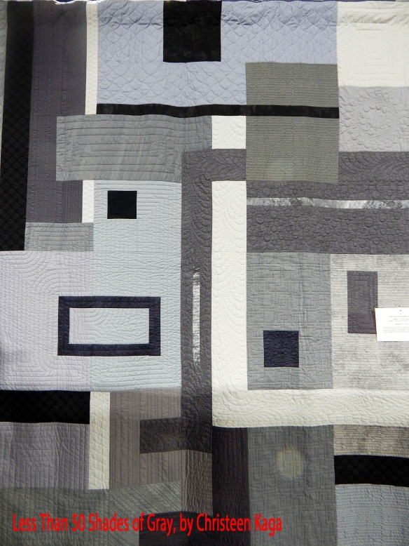 Gray quilt