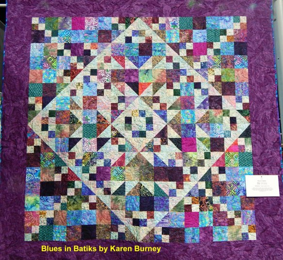 Smoky Mountain Quilt Guild show, Karen Burney