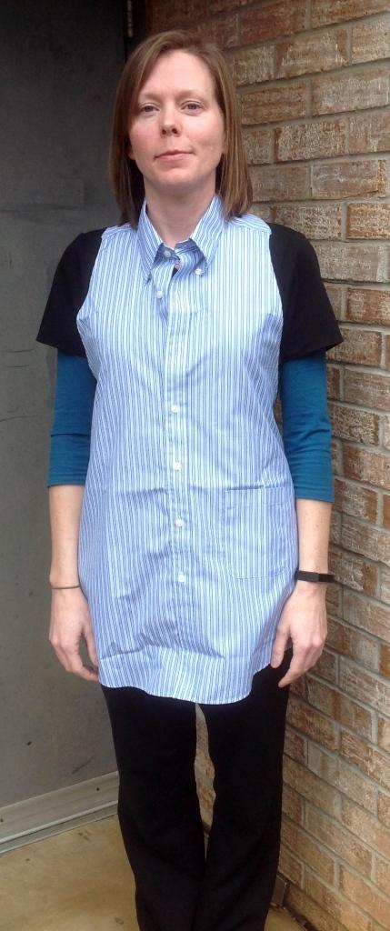 pattern review Kitchen Shirt tales