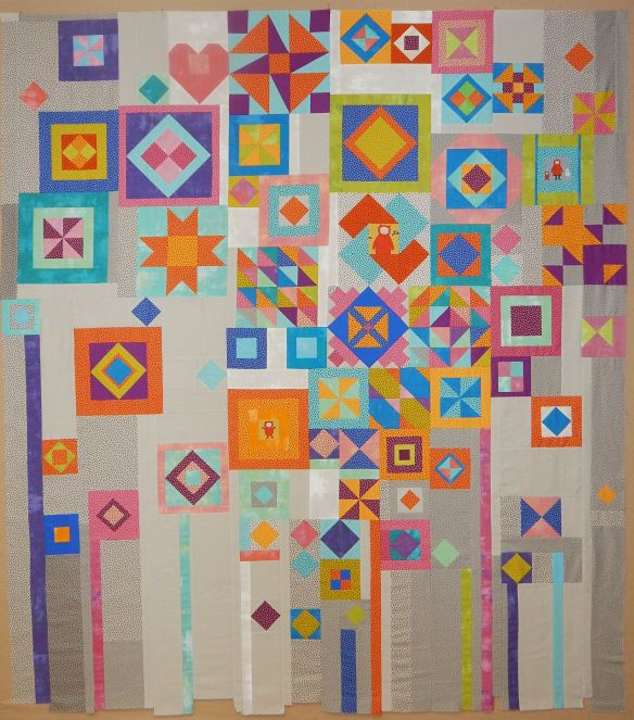 Gypsy wife quilt top