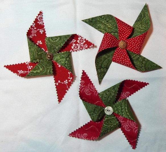 fabric pinwheels