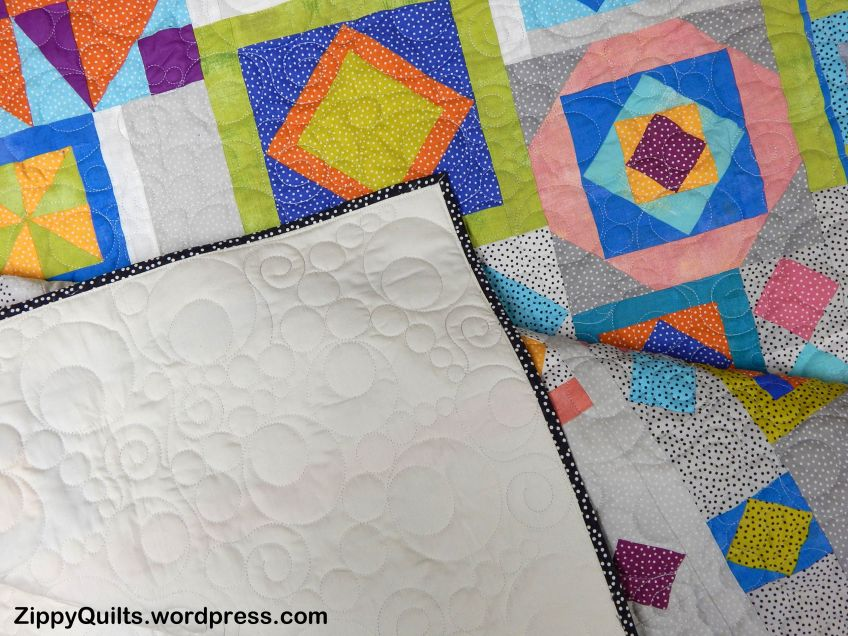 Binding gypsy wife quilt