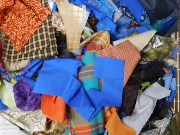 scrap block, slabs, scrap quilt