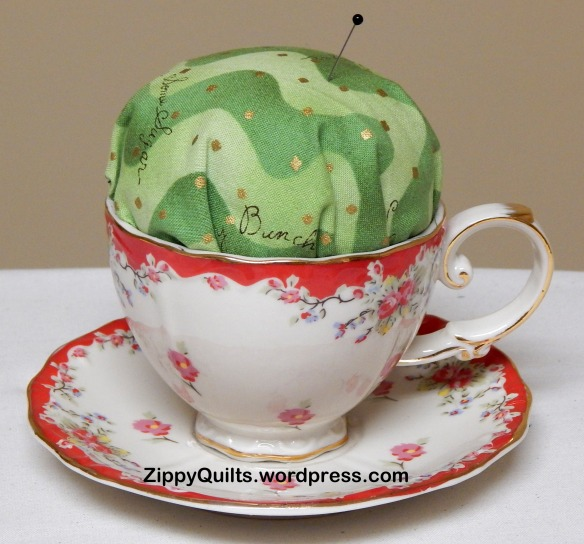 teacup pincushion tutorial