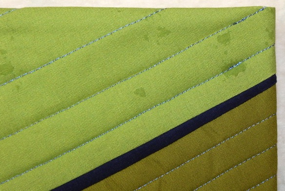 facing a quilt