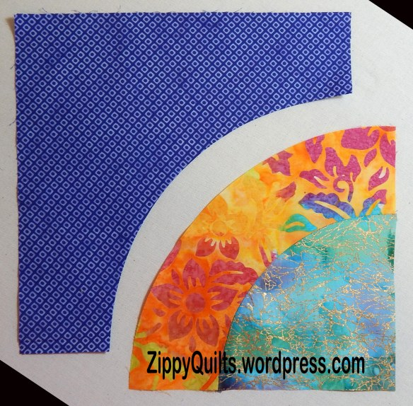 curved piecing tutorial