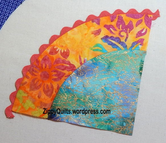 tutorial use rickrack in quilts